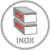 inox schuladen grau